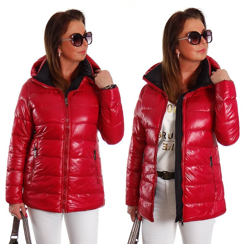 KURTKA ZIMOWA AVANT-GARDE COAT BLUE ROZ: 44 - 50